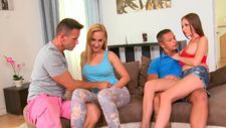 Crazy Hungarian sex party - video 2