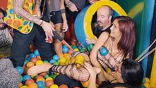 Ball pit orgy with beautiful euro girls - video 3