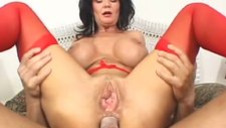 Horny Housewife Deauxma Takes a Cock In Her Racy Asshole!