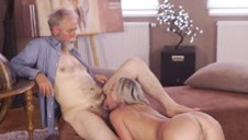 OLD4K. Nice cock of old teacher was main target for slutty..